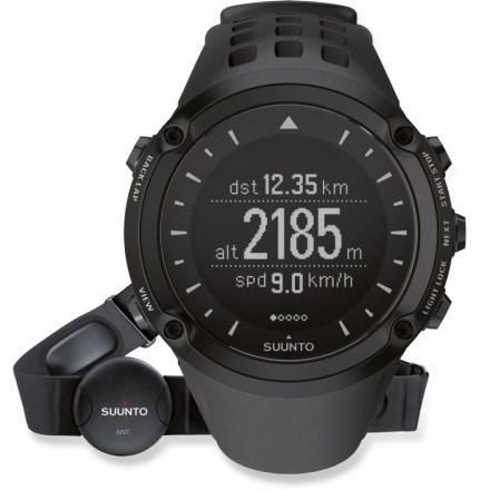 Fitness Explorers and athletes rejoice! The Suunto Ambit2 GPS multifunction heart rate monitor offers all kinds of useful features: navigation, weather, speed, heart rate, altitude and training data. - $339.93