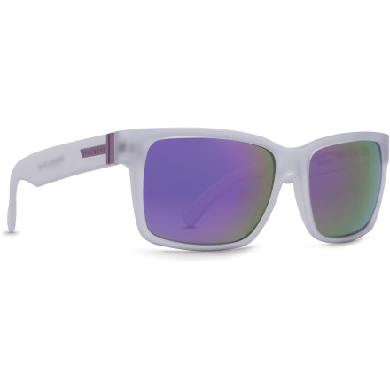 Camp and Hike Style and performance combine in the ultra hip Von Zipper Spaceglaze Elmore sunglasses. - $62.83