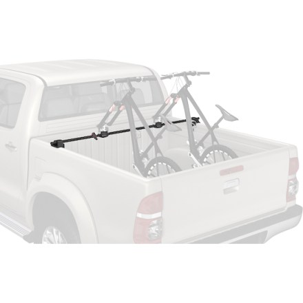 MTB Piling bikes in your truck bed is a thing of the past. The Yakima BikeBar Truck Bed Bike rack secures two bikes in your truck bed, and keeps them from scratching each other and your sweet ride. - $229.00