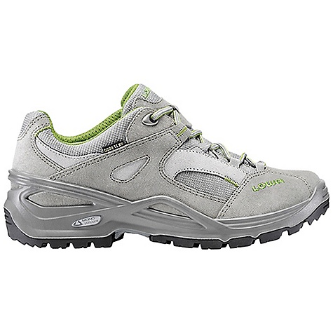 Camp and Hike Free Shipping. Lowa Women's Sirkos GTX Lo Shoe DECENT FEATURES of the Lowa Women's Sirkos GTX Lo Shoe A flexible outdoor shoe due to the 3/4 length stabilizer PU Monowrap midsole provides all day comfort Waterproof/breathable Made on a women's-specific last The SPECS Weight: 680 gram Upper: Split Leather/Cordura Lining: Gore-Tex Footbed: Climate Control Midsole: PU Monowrap Frame Outsole: Lowa Cross Stabilizer: 3/4 length, Medium - $174.95
