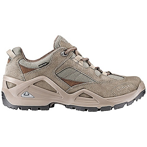 Camp and Hike Free Shipping. Lowa Men's Sirkos GTX Lo Shoe DECENT FEATURES of the Lowa Men's Sirkos GTX Lo Shoe A flexible outdoor shoe due to the 3/4 length stabilizer PU Monowrap midsole provides all day comfort Waterproof/breathable The SPECS Weight: 850 gram Upper: Split Leather/Cordura Lining: Gore-Tex Footbed: Climate Control Midsole: PU Monowrap Frame Outsole: Lowa Cross Stabilizer: 3/4 length, Medium - $174.95