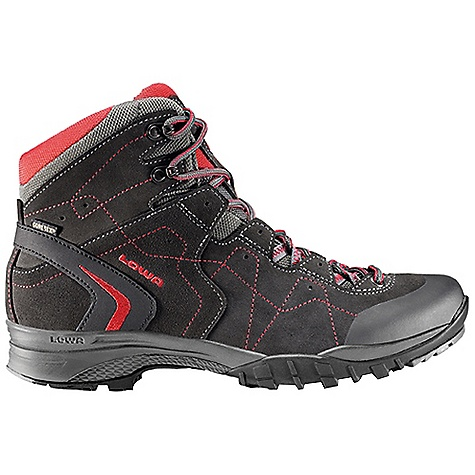 Camp and Hike Free Shipping. Lowa Men's Focus GTX QC Boot DECENT FEATURES of the Lowa Men's Focus GTX QC Boot New concept lightweight boot with great support and stability underfoot Lowa Flex lacing uses ball bearing lace loops set on free moving tabs, reducing overall pressure Ideal for do-it-in-a-day hike, traveling Waterproof/breathable The SPECS Weight: 1080 gram Upper: Split Leather/Cordura Lining: Gore-Tex Footbed: Balance Comfort Midsole: PU Outsole: Lowa Trac Lite Stabilizer: 5mm Nylon Heel/2mm Forefoot Climate Control: Yes C4 Tongue: Yes - $219.95