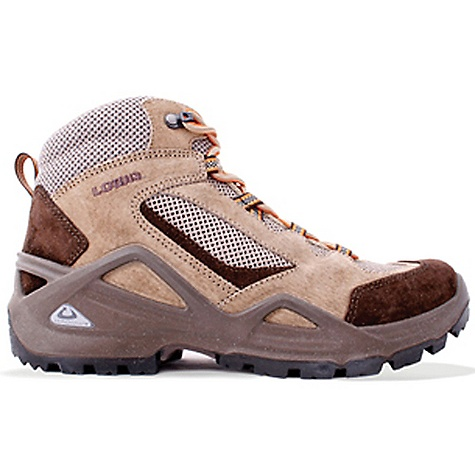 Camp and Hike Free Shipping. Lowa Men's Vento QC Boot DECENT FEATURES of the Lowa Men's Vento QC Boot Quarter cut highly ventilated trail boot for warm weather hiking The SPECS Weight: 810 gram Upper: Split Leather/Open Breathable Mesh Lining: Synthetic Mesh Footbed: Climate Control Midsole: PU Monowrap Frame Outsole: Lowa Cross Stabilizer: 3/4 Length, Stiff - $159.95