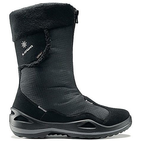Free Shipping. Lowa Women's Solden GTX Boot DECENT FEATURES of Lowa Women's Solden GTX Boot   Constructed of insulated microfiber and Cordura(R)   Features an ultra-warm and waterproof, GORE-TEX(R) lining with Partalena fleece insulation   Lightweight, comfortable, and supportive frame   Developed for winter use and offers traction on ice and snow   Built on an exclusive LOWA women's last for optimal fit and comfort - $199.95