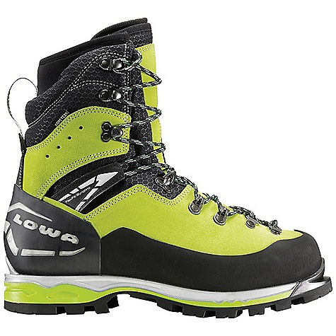 Free Shipping. Lowa Men's Weisshorn GTX Boot DECENT FEATURES of the Lowa Men's Weisshorn GTX Boot Lowa's most technical mixed route alpine boot Flexfit Synchro allows for ankle flex and articulation in steep terrain Double tongue with removable and adjustable inner tongue for a perfect fit across the top of the foot Foot hold is enhanced with I-Lock lacing I-Core reduces weight, provides rigidity for automatic crampons The SPECS Weight: 2000 gram Upper: Mountaineering Split Leather, Cordura and Microfiber Lining: Gore-Tex with Duratherm Insulation Tongue Stud/X-Lacing: Yes Flexfit Synchro: Yes I-Lock: Yes Footbed: Insulate Pro Alu-coated with Fleece Midsole: PU with I-Core Outsole: Vibram Dolent Stabilizer: 6mm Nylon/8mm TPU - $459.95