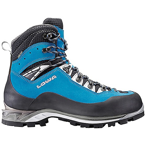 Free Shipping. Lowa Men's Cevedale Pro GTX Boot DECENT FEATURES of the Lowa Men's Cevedale Pro GTX Boot The ideal guide boot where versatility is paramount Durable leather upper with high wall rubber rand for protection Lined with Gore-Tex for waterproof/breathability Works with combination crampons The SPECS Weight: 1600 gram Upper: Mountaineering Split Leather/Microfiber Lining: Gore-Tex Climate Control: Yes Tongue Stud/X-Lacing: Yes C4 Tongue: Yes Flexfit: Synchro: Yes Footbed: Balance Comfort Midsole: Guida Pro PU with TPU Insert Outsole: Vibram Dolent Stabilizer: 5mm Nylon TPU - $374.95