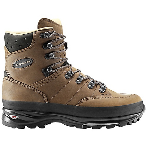 Camp and Hike Free Shipping. Lowa Men's Trekker Boot DECENT FEATURES of the Lowa Men's Trekker Boot Perhaps the best fitting boot in the entire outdoor industry The nubuck leather upper wraps around the foot providing a close fit, especially over the arch and instep area Leather lining enhances the superb fit The SPECS Weight: 2000 gram Upper: Nubuck Lining: Glove Leather Climate Control: Yes Tongue Stud/X-Lacing: Yes C4 Tongue: Yes Footbed: Balance Comfort Midsole: PU with SPS Cushion Outsole: Vibram Tactis DST Stabilizer: 5mm Nylon Heel/3mm Forefoot - $279.95
