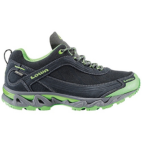 Fitness Free Shipping. Lowa Women's S - Cloud GTX Shoe DECENT FEATURES of the Lowa Women's S - Cloud GTX Shoe Four-season trail running shoe lined with Gore-Tex for water proofing and breathability Floating tongue construction fits close to the foot and self-adjusts for superb fit and is protected by elastic Gore-Tex protection over the instep Eliminates gusset wrinkles Medium to full volume allows for thicker sock in fall and winter Mounted on a STG 3D sole unit for stability and shock absorption Made on women's-specific last The SPECS Weight: 700 gram Upper: Split Leather Lining: Gore-Tex Stabilizer: 2/3 Synthetic Footbed: Ortholite Midsole: Bi-density EVA with TPU Insert for Stability Outsole: Lowa STG 3D - $169.95