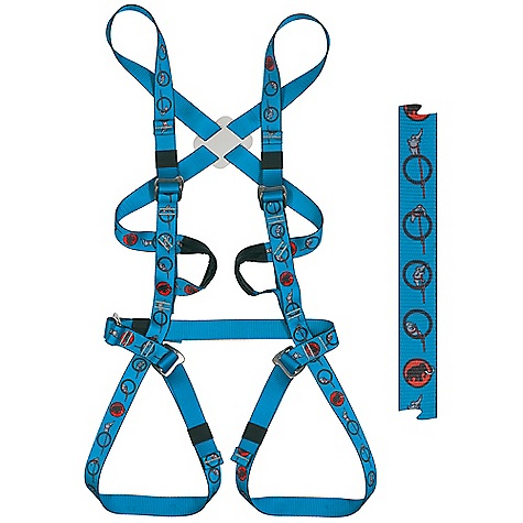 Climbing On Sale. Free Shipping. Mammut Kids' Elefantito Climbing DECENT FEATURES of the Mammut Kids' Elefantito Climbing Easily adjustable children's harness, thanks to 5 Slide Bloc buckles 2 textile material carry loops Designed for children Textile tie-in loops The SPECS Weight: 490 g ALL CLIMBING SALES ARE FINAL. - $62.99