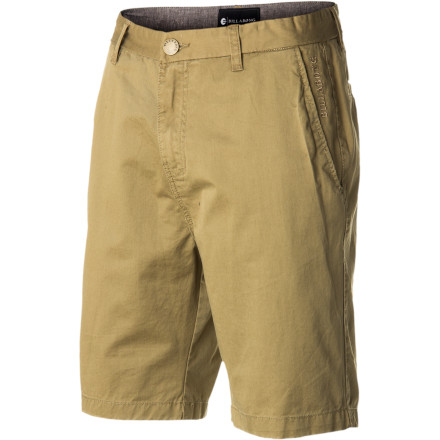 Surf If classic chino style is what you're after, the Billabong New Order 21in Short has you covered. Cotton twill fabric is pre-treated with an enzyme wash and light abrasions for a soft and comfortable yet durable feel you'll want to wear all summer. - $49.45