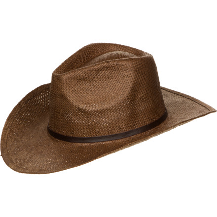 For top-notch sun protection and a classic old-west look, put on the Sunday Afternoons Dillon Hat. The three-inch brim shades your face from the sun and can be shaped for a custom look thanks to the internal wire brim. Plus, the elasticized headband wicks away moisture for comfort on warm summer days. - $15.60