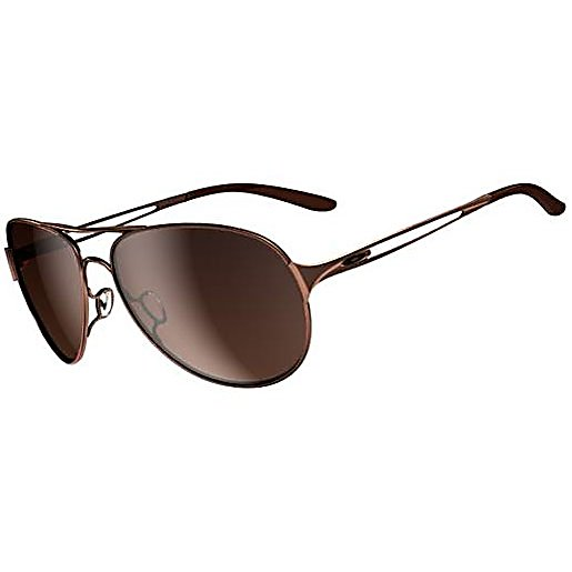 Ski Oakley Caveat Womens Sunglasses - The iconic aviator silhouette gets a fresh Oakley-style update in Caveat. Up front, these ultra lightweight C5 sunglasses are classically cool. Turn sideways, and the sleek temple with modern cutout is ready to rock the runway. For the on-trend girl, Caveat comes in an array of must-have finishes, from rose gold to turquoise. And unlike some imitators, these aviators know how to do their job: they provide UV protection via Plutonite lens material that filters out 100% of UVA / UVB / UVC and harmful blue light up to 400nm. When it comes to quality, Oakley always delivers. Caveat meets or exceeds optical precision and resistance standards of Z80.3 and gives you optimal peripheral vision and side protection of 6 base lens curvature. Add that to adjustable Unobtainium nosepads that won't snag your hair and bent ear stems for comfort. Features: Unobtainium adjustable nose pads ensure a snug, secure fit, Metal icon accents. Bearing Grade: Performance, Best Use: Fashion, Lens Material: Polycarbonate, Frame Material: C-5 Metal, Polarized: No, Photochromatic: No, Interchangable Lens: No, Additional Lenses: No, Gender: Women, Face Size: Medium, Nose Pads: Yes, Warranty: 1 Year, Lens Type: Mirrored, Model Year: 2014, Product ID: 232670, Frame Shape: Aviator, Model Number: OO4054-01, GTIN: 0700285470269 - $150.00