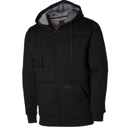If you dislike the cumbersome fit of your winter jacket so much that you postpone wearing it til youre damn near hypothermic, youll dig the Matix Classic Asher Hoody. The Ashers warm quilted body lets you maintain your mellow, casually comfy sweatshirt vibe even when the mercury takes a dive. - $35.97