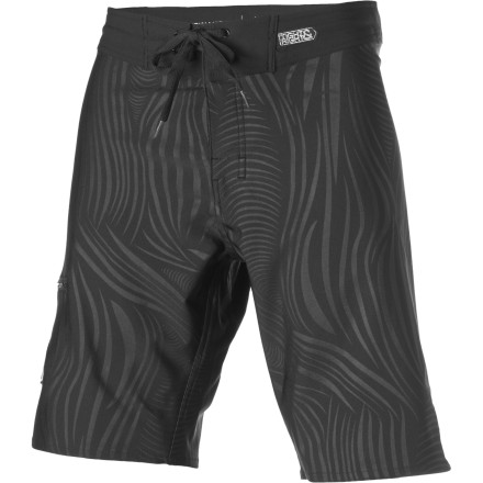 Surf Unlike its namesake, the Medusa Board Short from Imperial Motion won't turn you into stone as you gaze upon italthough the black-on-black varnish print is pretty mesmerizing. - $35.97