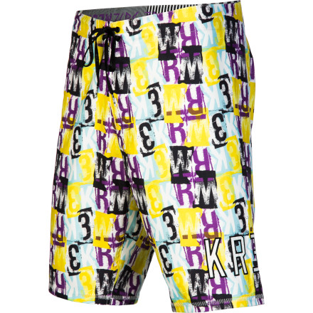 Surf The last thing you need is another boring pair of trunks, but the Krew Scream Board Shorts use bold prints to help you get noticed when you're strolling the sand. Slip into these boardies when you're ready for more than boring. - $49.95