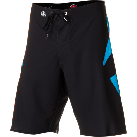 Surf Destroying waves on your surfboard just became a little easier with the Volcom Annihilator Nano Men's Board Short. It has a four-way stretch Nano fabric that allows unrestricted freedom of movement when you're making cutbacks on overhead swells, and a DWR coating ensures the fabric absorbs less water so the short doesn't cling and bunch when you're popping up. - $74.95