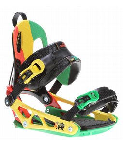 Snowboard K2 Cinch CTS Snowboard Bindings Rasta 2013 - Mens    $209.95