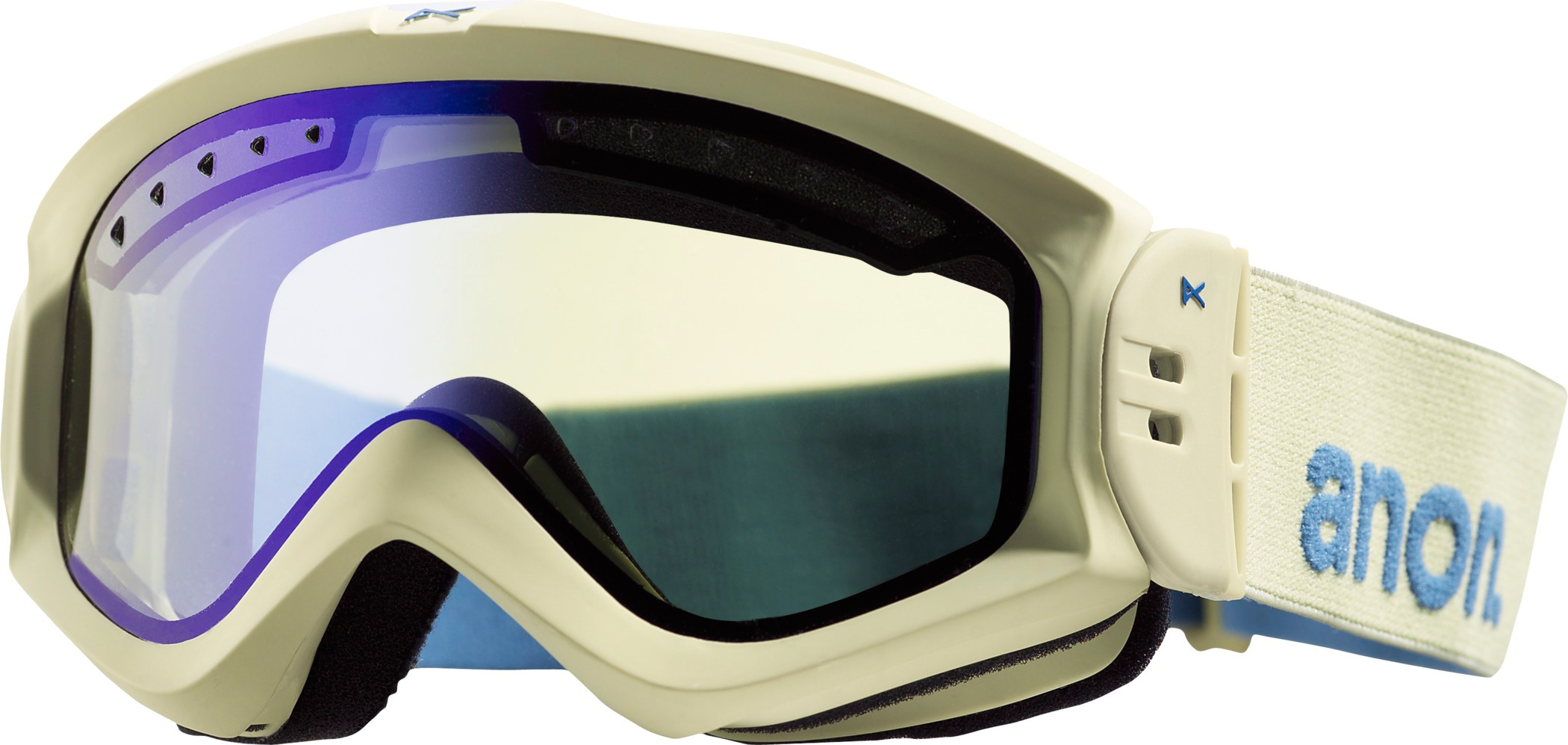 Ski First chair gets a fresh lookKey Features of the Anon Majestic Snowboard Goggles: Auto Adjust Strap Hinge Full Perimeter Channel Venting Dual Layer Face Foam - $41.56