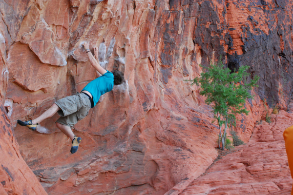 Climbing 5 tips to become a better rock climber.  Article