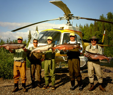 Fishing World's Top Adventure Trips - Alaska: Off the Grid.  Article by Jeff Wise