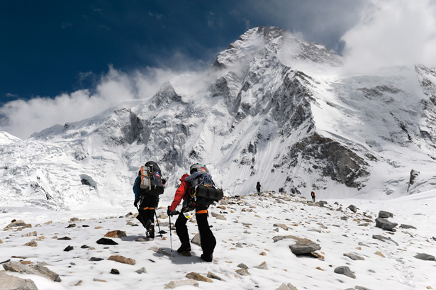 Climbing K2 - Danger and desire on the Savage Mountain.  Article by Chip Brown