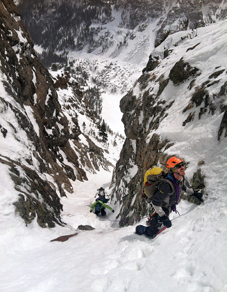Climbing Lessons From Conquering a Couloir.  Article by Avery Stonich on May 7, 2013