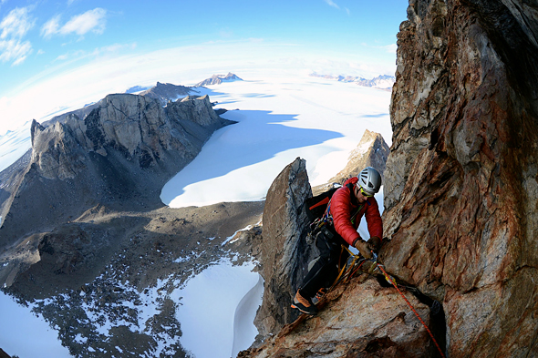 Climbing Antarctica: Exploring the Frozen Frontier.  Article by Freddie Wilkinson on April 18, 2013