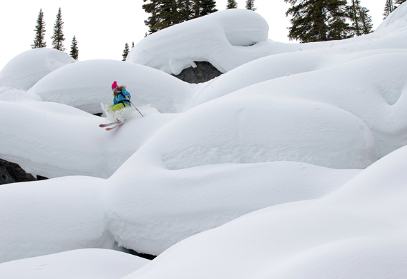 Ski Powder Highway Road Trip – Stop #6 – Golden Alpine Holidays, BC.  Article by Zach Crist on March 25, 2013