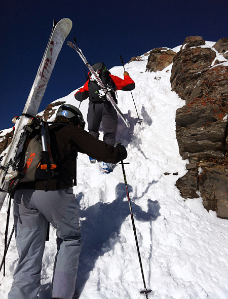 Ski Pushing Boundaries—Skiing the Jackson Hole Backcountry.  Article by Avery Stonich on March 21, 2013
