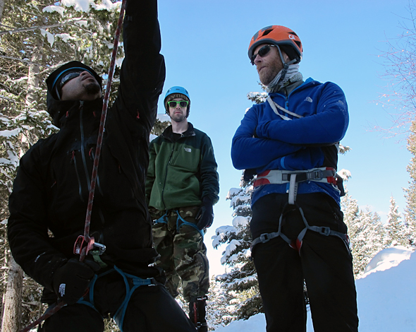 Climbing Conrad Anker on How War Veterans and Climbers Share Similar Values.  Article by Chris Kassar on March 15, 2013