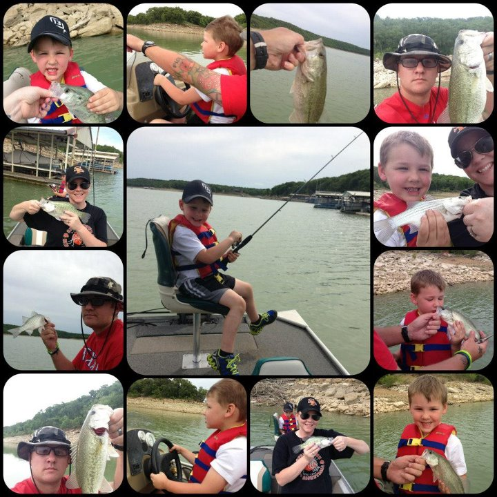 Fishing Donnie Grubbs with a fun family day on the water!
