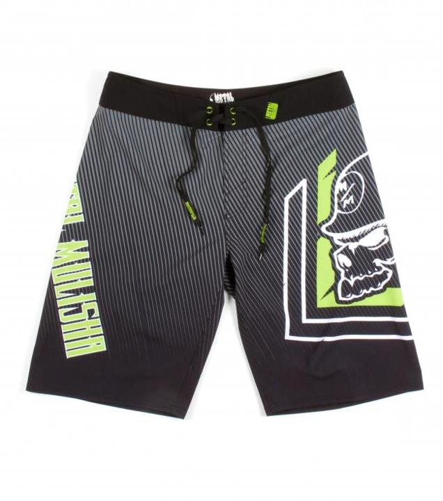 "Motorsports MIGHTY BOARDSHORTS $43.99 STYLE # M13506102 Metal Mulisha mens 4 way 23"" outseam boardshort with comfort fly closure, allover print, solid waistband and pocket flap with clip label. http://www.metalmulisha.com/shop/clothing/mens/boardshorts/mighty-boardsh"