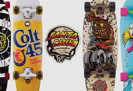 Skateboard Santa Cruz skateboards. Some think they are art... http://bit.ly/17aUMGK