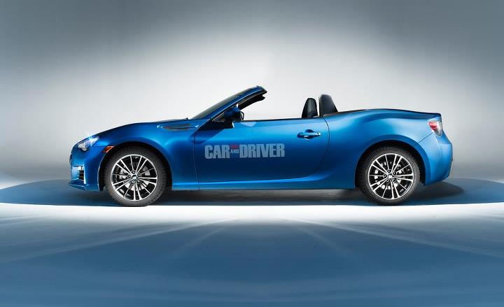Auto and Cycle We can hardly wait for a droptop version of the 10Best-winning Scion FR-S and BRZ, how 'bout you? More info: http://cardrive.co/6031XSCN