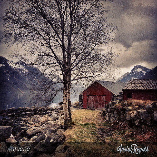 Entertainment Picturesque scenery by the Hjørundfjord, close to Ålesund, captured by @ttuene on Instagram via hashtag fjordnorway.