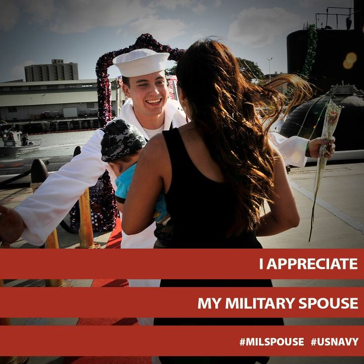 Guns and Military Celebrate Military Spouse Appreciation Day with us! 
