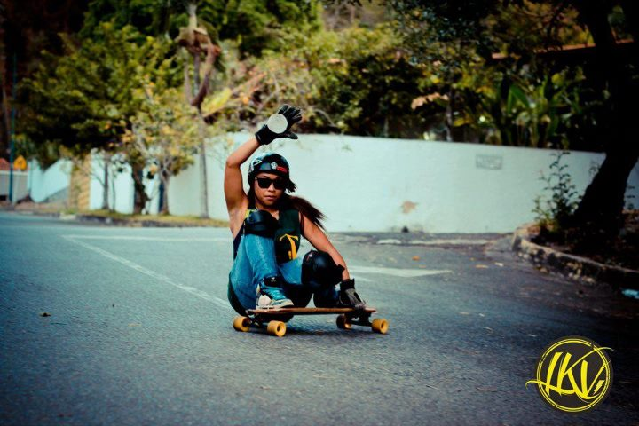 Skateboard Longboard Girls Crew Venezuela ambassador Oly Joplin ripping! Have a great weekend everyone!