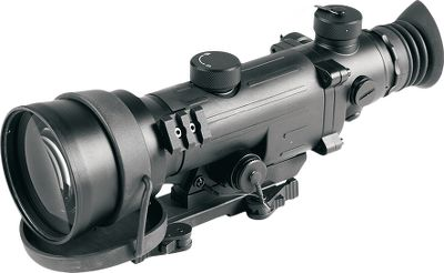 Fitness The Armasight Vampir Nightvision Riflescope is built with the proprietary Ceramic Optical Ruggedized Engine (CORE) image-intensifier technology. CORE utilizes afusion of metal alloys with ceramic compounds, making this nightvision riflescope much less fragile than glass. The Vampir Riflescope provides flatter and clearer nightvision viewing. Features 4X power and 10 degree field of view. The body is milled from solid, aluminum and rubber-coated for protection. Its nitrogen-purged and O-ring sealed for fogproof and waterproof performance. All necessary hardware for solid mounting to a standard 7/8 Picatinny- or Weaver-style rail provided. Includes soft carry case and bateries. Two-year warranty. Imported. - $699.99