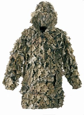 Hunting No flat fabric, regardless of pattern, presents the same depth, shadows and realism as the Mens Leafy-wear Pro II Poncho. Silent Leaf construction gives true-to-life depth and definition to shatter the human form for all-terrain invisibility. The breathable 4.5-oz. polyester-mesh shell has a 1/4-zip front for easy on and off. The drawcord hood delivers extra concealment. Two zippered slash pockets and one at the chest. Elastic cuffs. Imported. Sizes: M-2XL. Camo patterns: Mossy Oak Break-Up Infinity, Realtree XTRA, Realtree XTRA Green, Cabelas Zonz Woodlands. Size: M. Color: Realtree Xtra. Gender: Male. Age Group: Adult. - $39.88