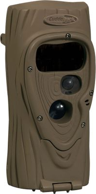 With 1/4-second trigger speed and centered-subject technology, this 5MP Cuddeback Attack Black Flash Game Camera rapidly takes photos while ensuring wildlife are centered in each frame. Black Flash infrared illumination delivers extremely clear photos with minimal blur and washout. Long-range nighttime illumination also makes this camera ideal for food plots and feeders. Full-season battery life takes up to 10,000 images before the batteries need replaced. Time-lapse mode takes a photo every 12 seconds during daylight to monitor a large area for activity, plus it takes 10- to 30-second video clips, day or night. 120MB of internal memory stores photos if you forget your memory card. Uses up to 32GB SD card (not included) and four D batteries (not included). 40-ft. flash range.Dimensions: 11.5H x 6.5W x 4.5D. Type: Infrared. - $99.99