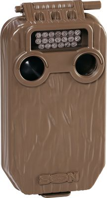 Compact Cuddeback Seen Game Camera is perfect for trails, rub lines and scrapes. Select between wide-angle or centered-subject modes to get the perfect shot of whatever walks in front of your camera. Adjustable camera delay from 15 seconds to three minutes. Cuddebacks infrared technology delivers high-quality 5MP photos with consistently even illumination and reduced flash washout at night. Daytime photos are enhanced with Smart Color technology for vibrant colors. See wildlife in action with 10- to 30-second videos, day or night. Also has a time-lapse mode which takes an untriggered photo at intervals between one minute and 24 hours. 120MB of internal memory stores photos if you forget your memory card. Uses an SD card up to 32GB (not included). Requires eight AA batteries (not included) for up to six months of operation. 40-ft. flash range. Dimensions: 7.5H x 4.5W x 2.5D. Type: Infrared. - $119.88