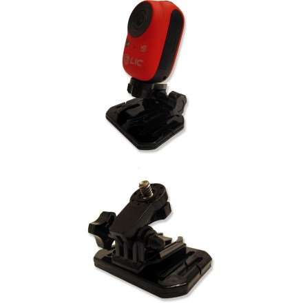 Entertainment The Liquid Image EGO flat and curved replacement mounts offer convenient and secure options for mounting your EGO HD camera (sold separately) onto smooth surfaces. Extremely strong 3M(R) adhesive clings tenaciously, yet is easy to remove without damaging most surfaces. - $19.95