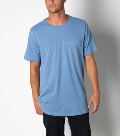 Surf Jack O'Neill Surfrider Tee: 100%cotton brushed jersey short sleeve crew knit. Standard fit; contrast interior neck tape; Jack O'Neill labels and embroideries. - $17.99