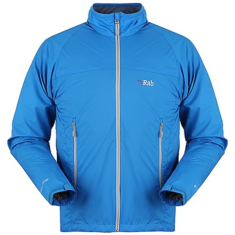 Free Shipping. Rab Men's Vapour-Rise Lite Jacket DECENT FEATURES of Rab Men's Vapour-Rise Lite Jacket Pertex(R) Equilibrium outer fabric Wicking micro fleece drop liner YKK front zip, internal storm flap, chin guard Lycra(R) bound collar 2 zipped low A-line hand pockets Velcro(R) adjustable cuff Half hem drawcord The SPECS Fit: Regular Weight: 260g / 9oz Warp: 20d Weft: 20d/20d DWR/Spray: 80/20 Air Perm: 10cc Weight/m: 49g/m Comp: 100% Nylon This product can only be shipped within the United States. Please don't hate us. - $150.00