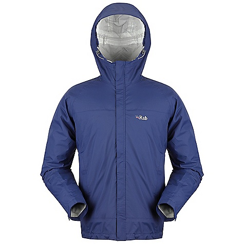 Fitness Free Shipping. Rab Men's Tempo Jacket DECENT FEATURES of Rab Men's Tempo Jacket Waterproof jacket using Pertex(R) Shield fabric Fixed hood and external storm flap 2 mesh lined pockets are protected from the elements by storm flaps and can also be used for ventilation Left pocket doubles as an integral stuff sack Pertex(R) Shield 2.5L YKK front zip External storm flap 2 YKK zipped large mesh lined hand pockets with storm flaps Velcro(R) cuffs, hem drawcord The SPECS Fit: Regular Warp: 40D Weft: 40D DWR/Spray: 80/20 HH: 10,000mm Weight/m: 80g/m Comp: 100% Nylon ripstop This product can only be shipped within the United States. Please don't hate us. - $125.00