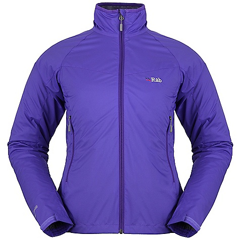 Free Shipping. Rab Women's Vapour-Rise Lite Jacket DECENT FEATURES of Rab Men's Vapour-Rise Lite Jacket Pertex(R) Equilibrium outer fabric Wicking micro fleece drop liner YKK front zip, internal storm flap, chin guard Lycra(R) bound collar 2 zipped low A-line hand pockets Velcro(R) adjustable cuff Half hem drawcord The SPECS Fit: Regular Weight: 240g / 8oz Warp: 20d Weft: 20d/20d DWR/Spray: 80/20 Air Perm: 10cc Weight/m: 49g/m Comp: 100% Nylon This product can only be shipped within the United States. Please don't hate us. - $150.00