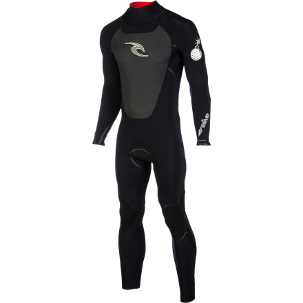Surf The sun may always be shining in southern Cali, but the water often stays cold, so don't head to the beach without the Rip Curl F-Bomb Men's 4/3 Wetsuit. E3 neoprene is supremely stretchy and has an extremely high warmth-to-weight ratio so you don't have to feel weighed down and restricted just to stay warm. Seamless underarms and shoulders maximize your range of motion for comfortable paddling, and E3+ taped seams seal out water without limiting mobility. The Flash lining funnels water out of the suit quickly once you hang it up to make it the fastest drying suit on the market. - $286.96