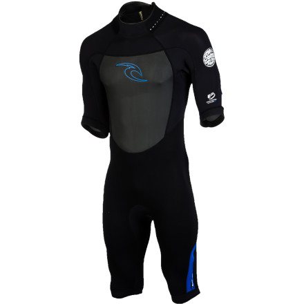 Surf Whether you're bundling up for the coldest part of the year in Hawaii or getting ready for mid-summer surf on the east coast, the Rip Curl Dawn Patrol Spring Men's Short-Sleeve Wetsuit will keep you comfy when your fullsuit is too much but board shorts won't quite cut it. The 2mm neoprene is flexible and lightweight so it doesn't weight you down or restrict movement. Seamless underarms and shoulders make paddling easier, and stress-point taped seams ensure durability so you can break it out next spring (or summer, or winter, or whatever). - $80.96