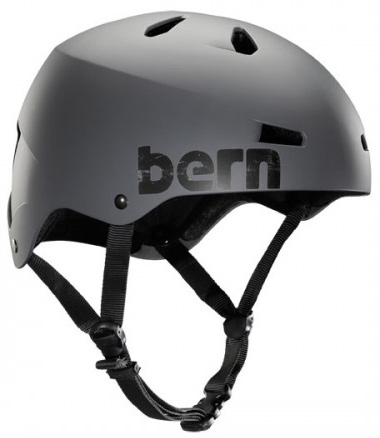 Wake Key Features of the Bern Macon Water Helmets: Available in Thinshell, Hardhat, and H2O 13 Vents 3 Hardhat and H2O shell sizes Stylish Fit with customized impact protection Size ranges for optimal fit Colored straps Satin finish on white - $46.95