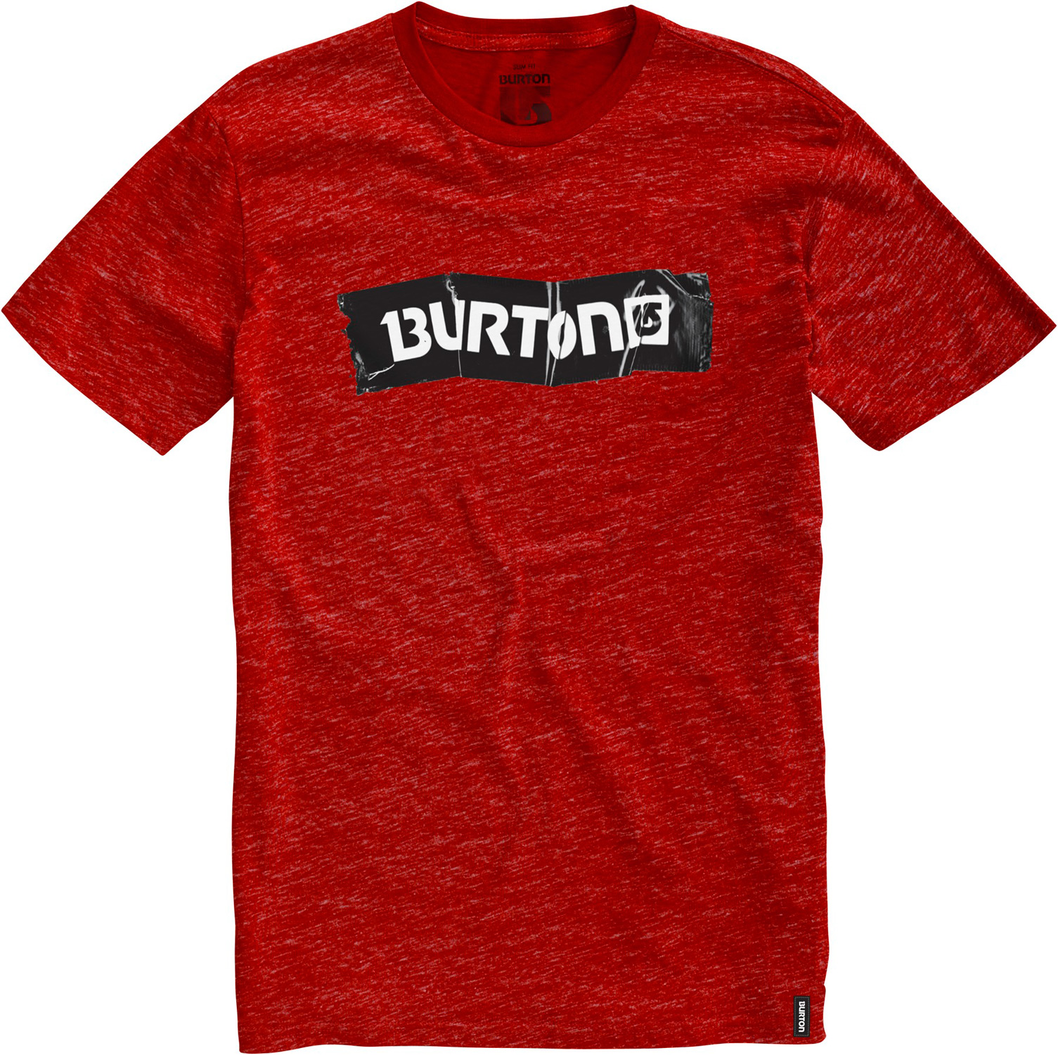Snowboard Burton Taped Slim Fit T-Shirt - $11.87